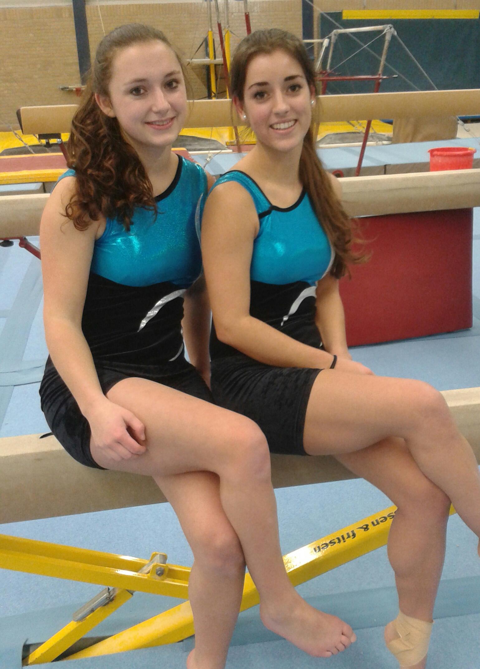 2014-02-08 Maaike en Jarinke finale 3e div
